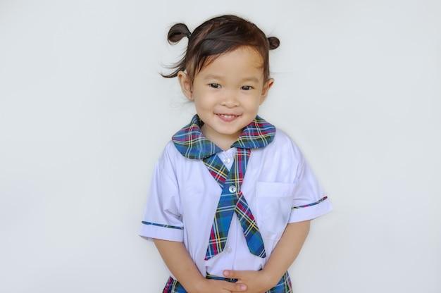 Happy cute asian Premium Photo