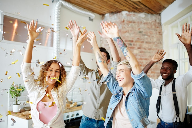Download This Free Photo Happy Dance With Friends