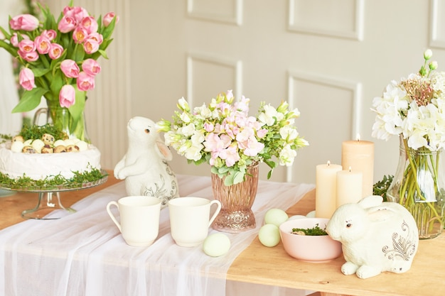 decorative kitchen decor.htm happy easter  holiday decorations beautiful festive easter table  happy easter  holiday decorations