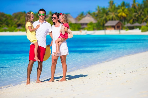 Happy family vacation Premium Photo