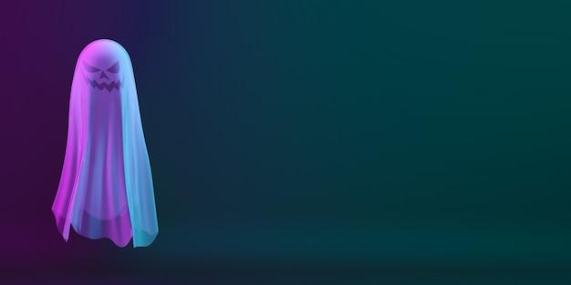 ゴーストキャラクターのハッピーハロウィン Premium写真