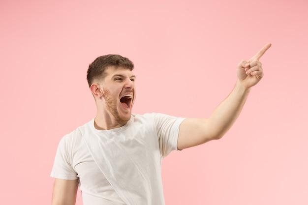 Счастливый человек празднует победу Бесплатные Фотографии