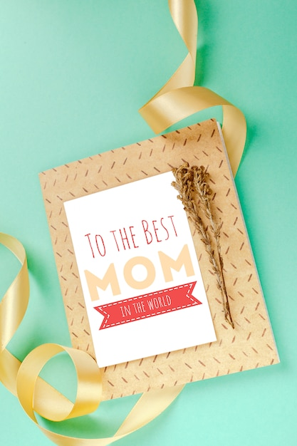 Happy mother's day greeting card Premium Photo