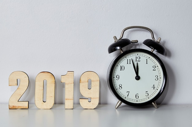 Happy new year 2019 concept Premium Photo