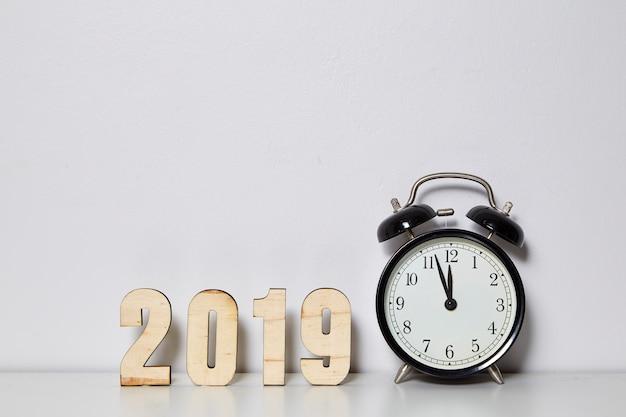Happy new year 2019 concept Premium Photo