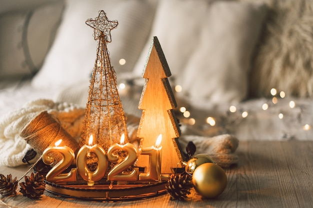 Happy new year 2021 Premium Photo