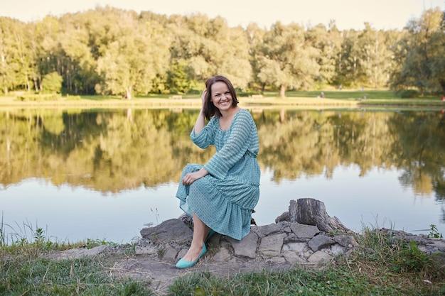 Happy romantic woman Free Photo