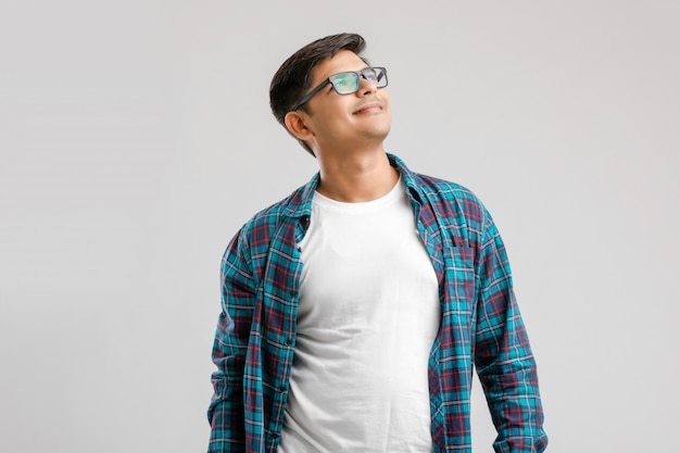 Happy young indian man Premium Photo