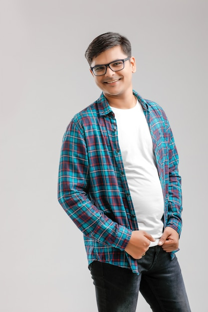 Happy young indian man Premium Photo