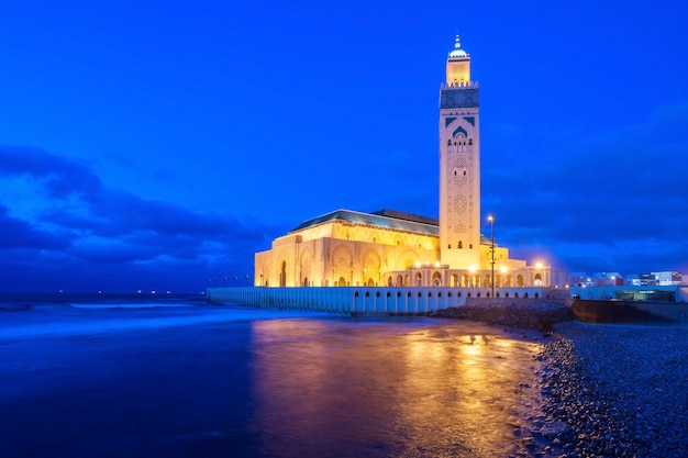 Hassan ii mosque Premium Photo