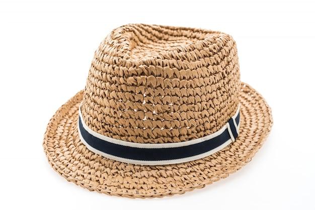 Hat background white wear beautiful Free Photo