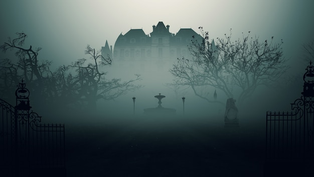 Haunted house Premium Photo