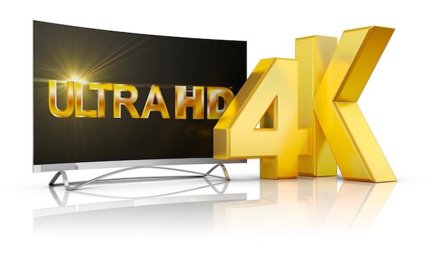 ウルトラhdテレビとボリューム碑文4k Premium写真