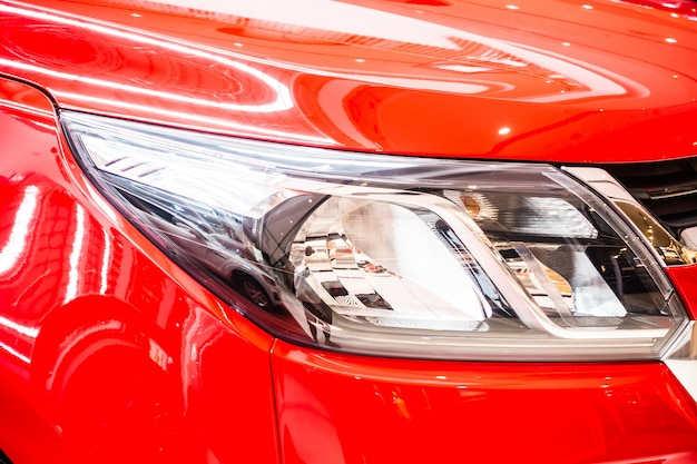 Headlights lamp car Free Photo