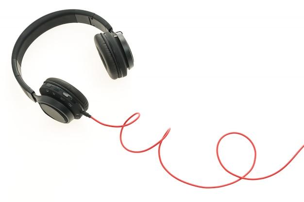 Headphones audio for listen Free Photo