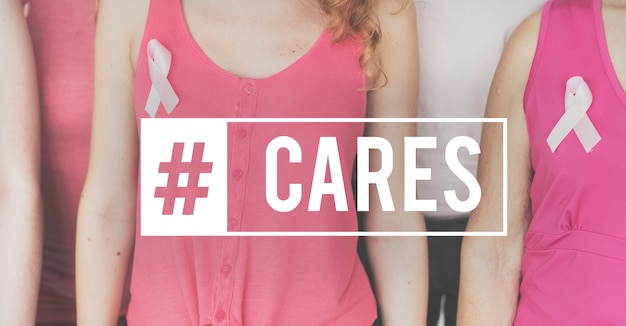 Health awareness cure breast cancer Free Photo