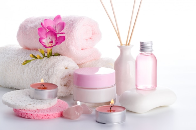 Health care and spa setting Premium Photo
