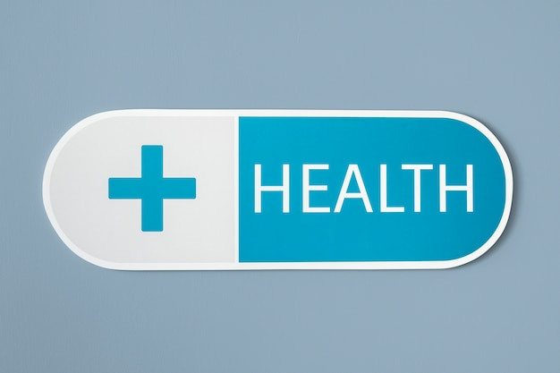 Health and medicine medical icon Free Photo