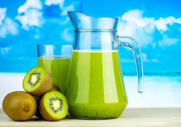 Healthy kiwi juice summer recipe 53876 18235