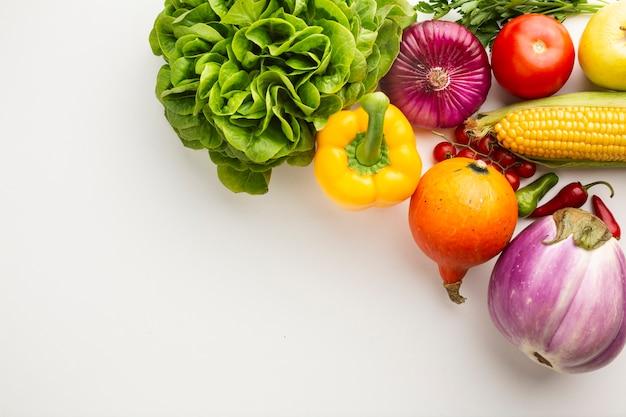 Healthy vegetables full of vitamins Free Photo