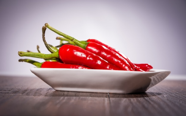 A heap of chili peppers Free Photo