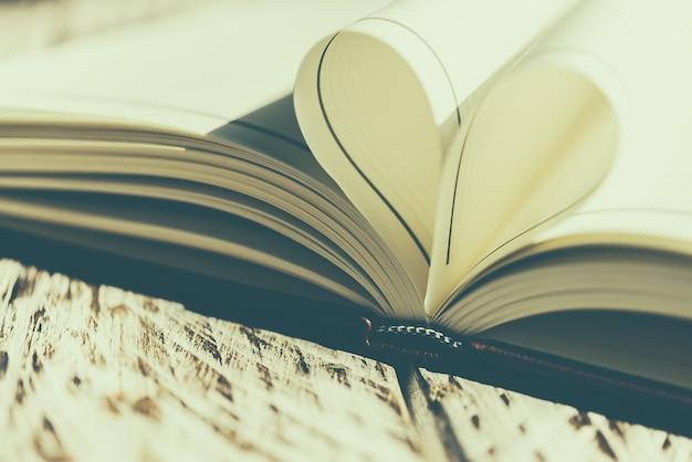 Heart book Free Photo