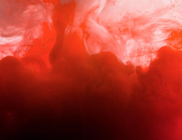 Heavy red cloud of haze Free Photo