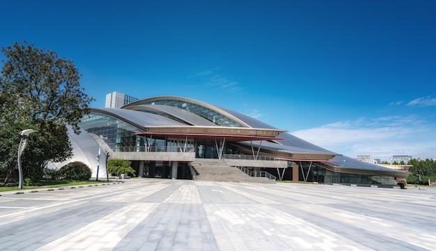 Хэфэй город современная архитектура пейзаж горизонт Premium Фотографии