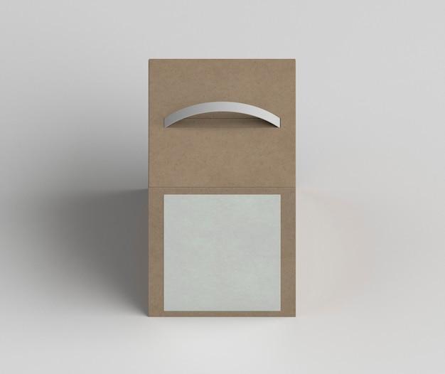 Ассортимент картонных коробок под большим углом Бесплатные Фотографии