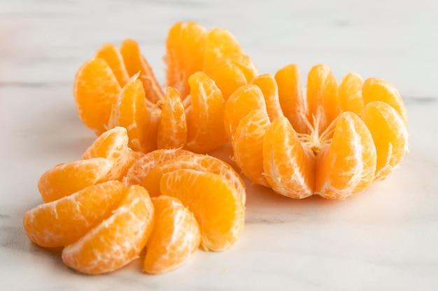Alto angolo di arance Foto Gratuite