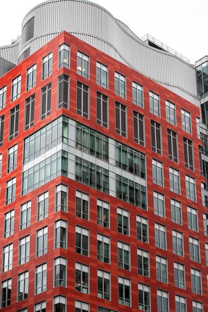 현대적인 디자인의 높은 아파트 프리미엄 사진