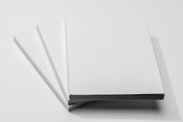 コピースペースの本のハイビューページ 無料写真
