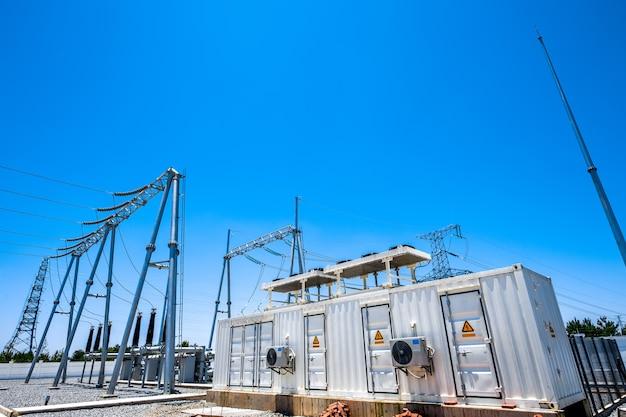 Premium Photo | High voltage power transformer substation