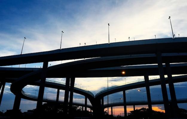 Highway bridges Free Photo