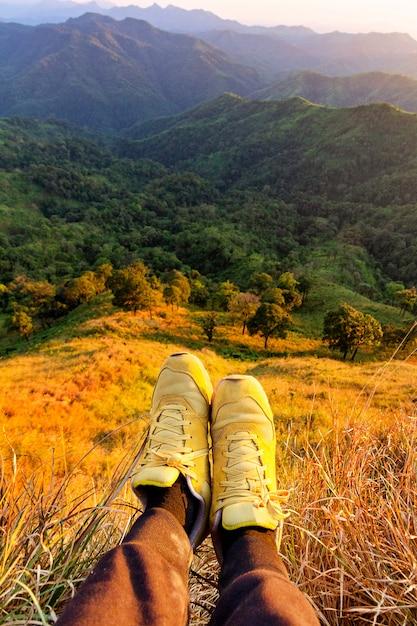 [تصویر:  hikers-lay-down-resting-show-feet-with-w...563-74.jpg]