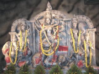 Hindu goddess maa durga puja Free Photo