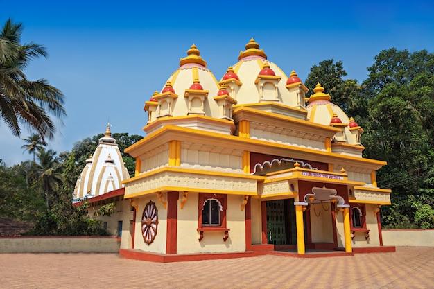 Hindu temple in ponda Premium Photo