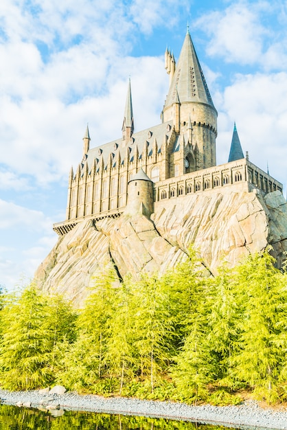 Hogwarts school of witchcraft castle and wizardry replica Free Photo