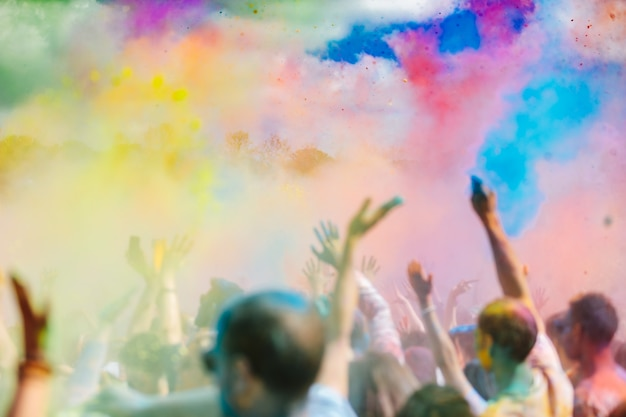 Holi festival Premium Photo