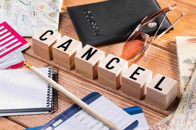 Holiday delayed due to coronavirus Premium Photo