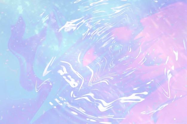 홀로그램 파스텔 그라데이션 물 리플 무료 사진
