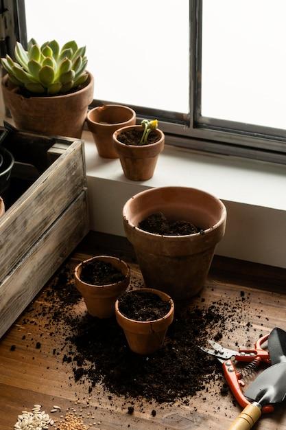 Giardinaggio domestico Foto Gratuite