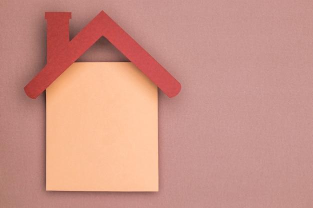 Домашний натюрморт с вырезкой из бумаги Бесплатные Фотографии