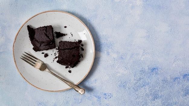 Homemade cake made of chocolate Free Photo