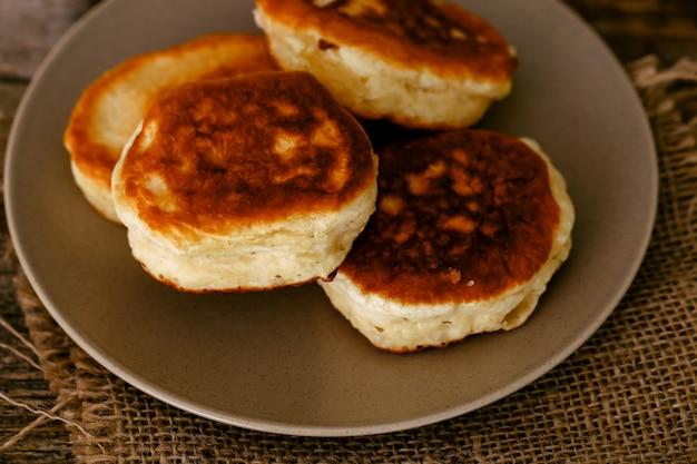 Homemade pancakes Free Photo