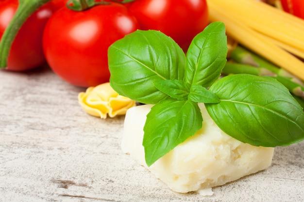 Homemade raw italian tortellini Premium Photo