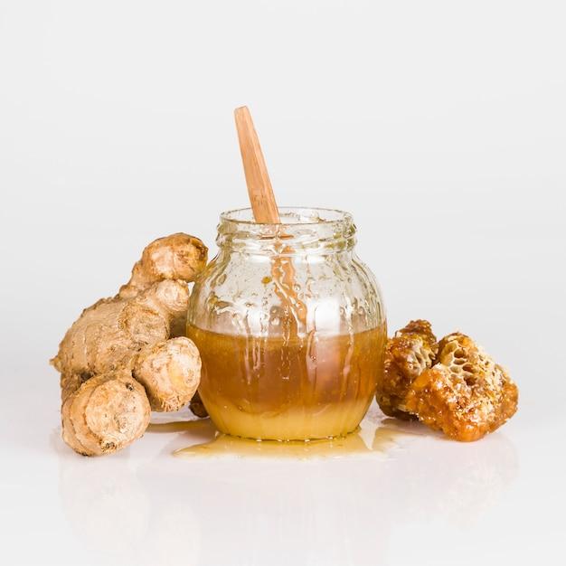 Honey and ginger Free Photo