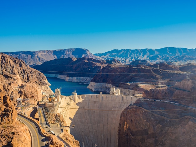 Hoover dam in nevada, usa . Free Photo