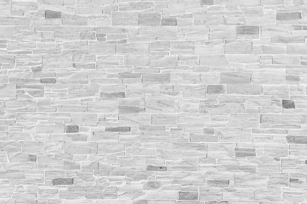 Horizontal modern brick wall for pattern and background. Premium Photo