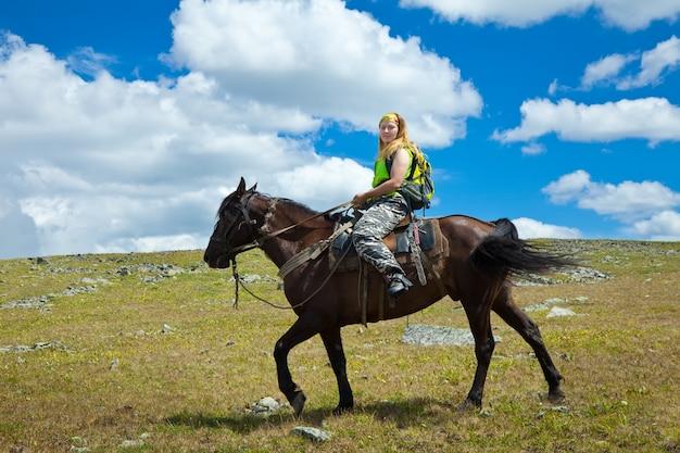 Horseback riding Free Photo